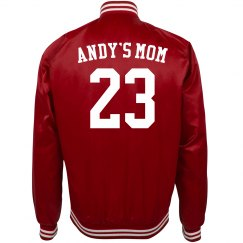 Custom Name Number Baseball Mom