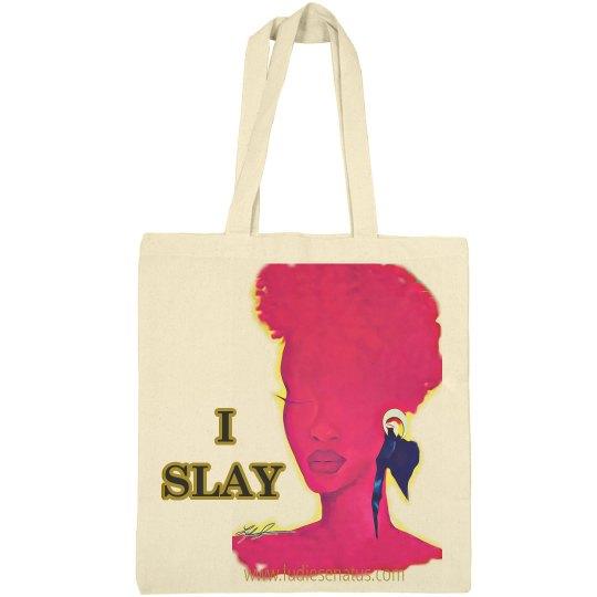 """Cerisse """"I Slay"""" small Tote bag"""