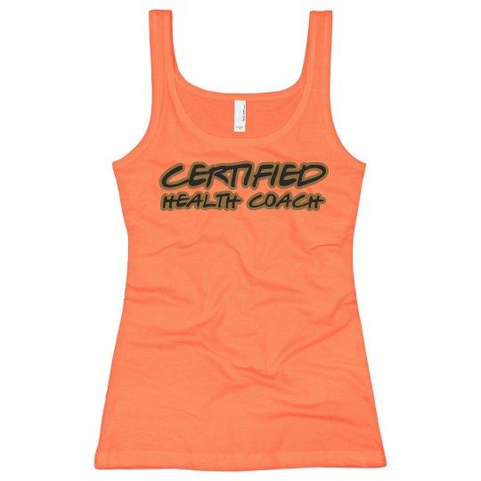 Certified Health Coach tank top