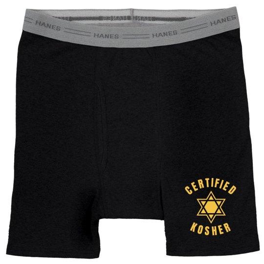 Certified Kosher Boxers