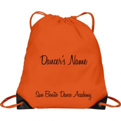 SBDA Personalized Drawstring Bag
