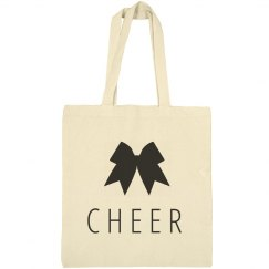 Cute Cheer Girl Tote