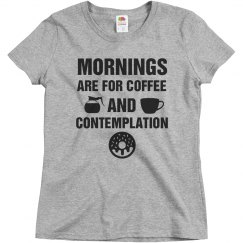 Morning Coffee And Contemplation