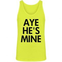 Aye He's Mine in Neon