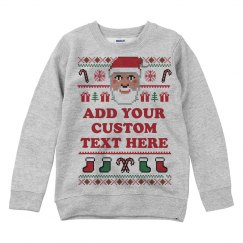 Personalized Ugly Christmas Sweater