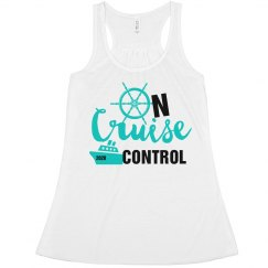 On Cruise Control Tank-Turquoise