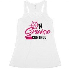 On Cruise Control Tank-Rasberry