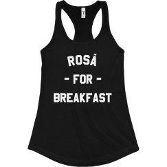 Rosé For Breakfast Tank