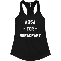 Rosé For Breakfast Tank