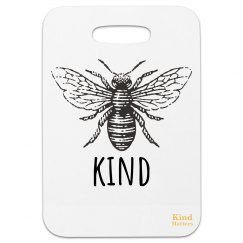 Bag tag bee kind