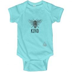 Bee Kind infant onesie