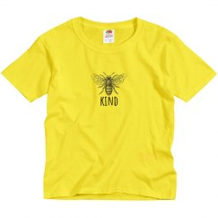 Bee Kind youth tee