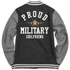 Proud Metallic Army Girlfriend Jacket