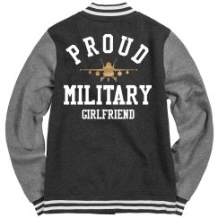 Proud Metallic Army Girlfriend Jacket