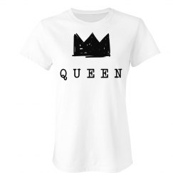 Cute Matching King & Queen Tee 2