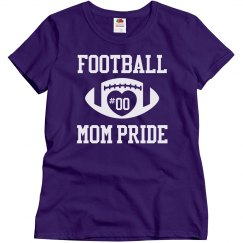 Football Mom Shirts You Can Actually Customize