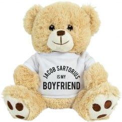 Team Jacob Sartorius Girlfriend Teddy Bear