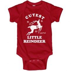 Little Reindeer Onesie