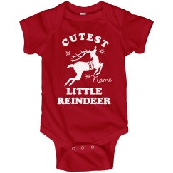 Little Reindeer Bodysuit