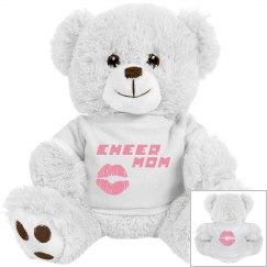 Cheer Mom Cuddly Bear