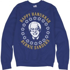 Happy Hanukkah Sanders