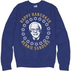 Happy Hanukkah Sanders