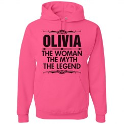 Olivia the woman the myth the legend