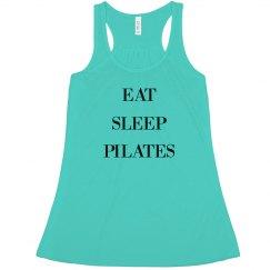 EAT / SLEEP / PILATES - FLOWY TANK