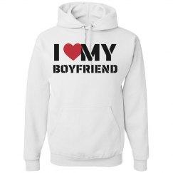 I love my Boyfriend Hoodie
