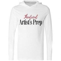 White Hooded Long Sleeve T-Shirt