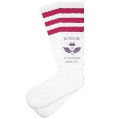 Custom Seniors 2018 Socks
