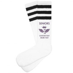 Custom Seniors 2018 Socks