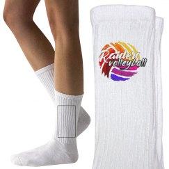 Raiders Volleyball Socks