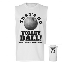 Spoof Volleyball Team Tee