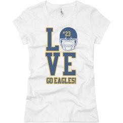 Eagle Football Girlfriend
