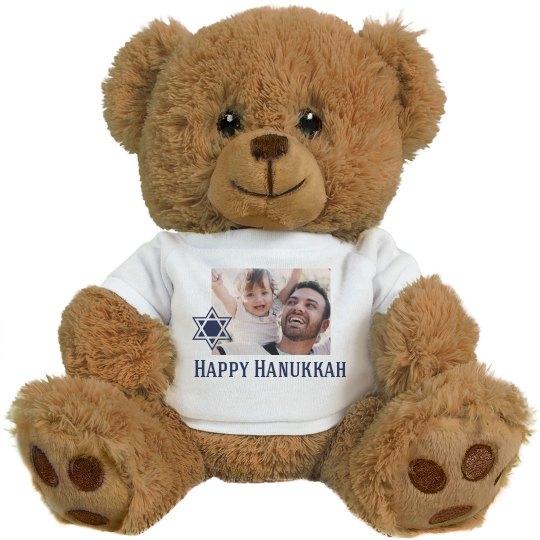Chag Sameach Custom Photo Bear