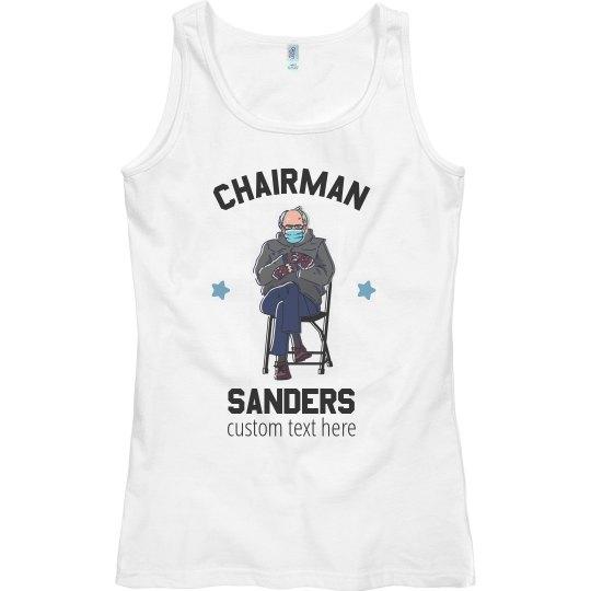 Chairman Sanders Inauguration Tank Top