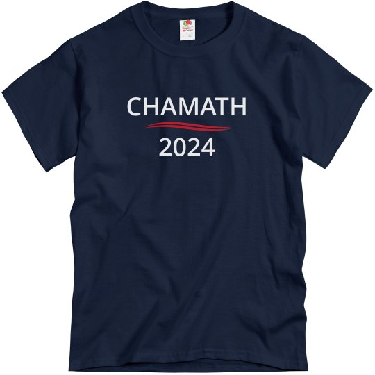 CHAMATH FOR PRESIDENT 2024
