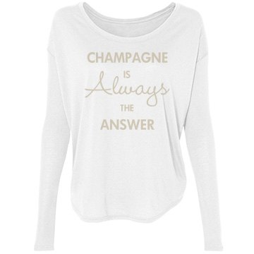 Champagne Is The Answer