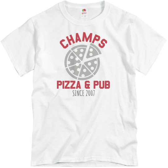 Champs 1 - White & Red