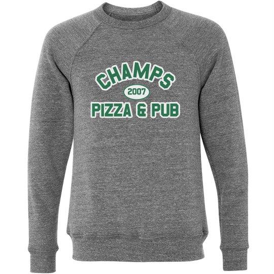 Champs 3 - Grey, Green & White sweatshirt