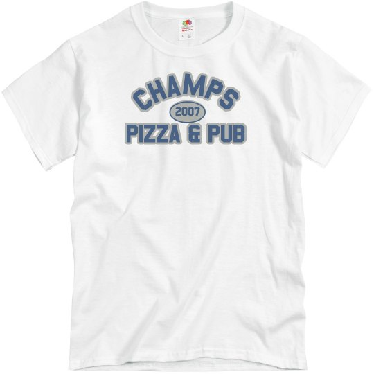 Champs 3 - White Blue & Grey