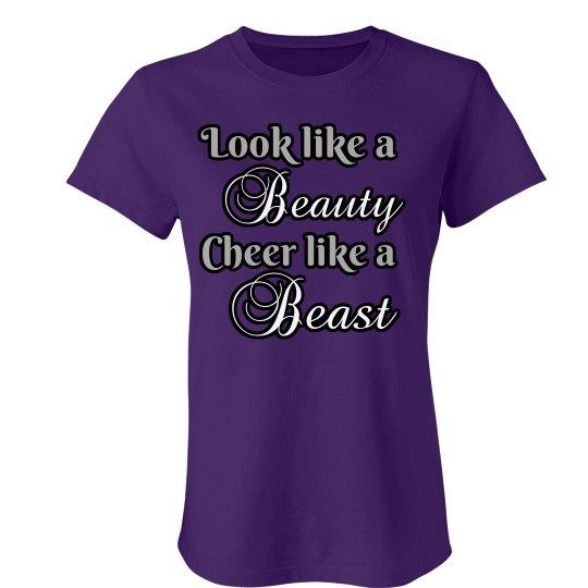 Cheer Beauty & Beast Tee