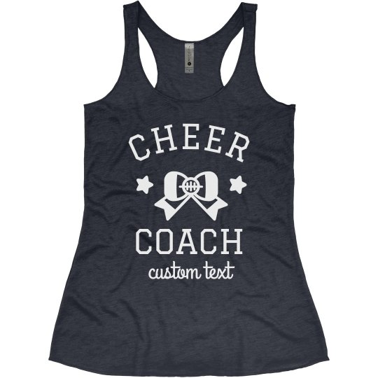 Cheer Coach Custom Cheerleading Tank