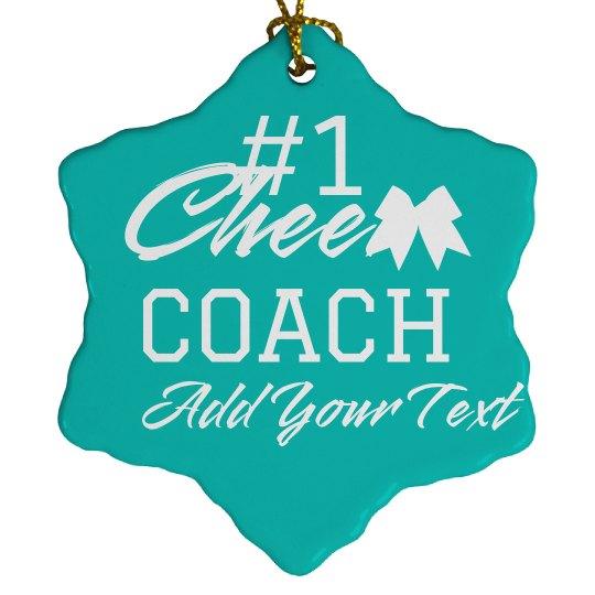 Cheer Coach Custom Christmas Gift