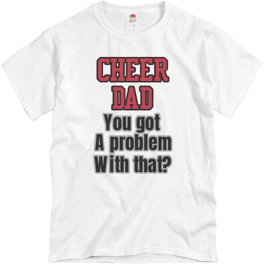 Cheer Dad Bold Tee