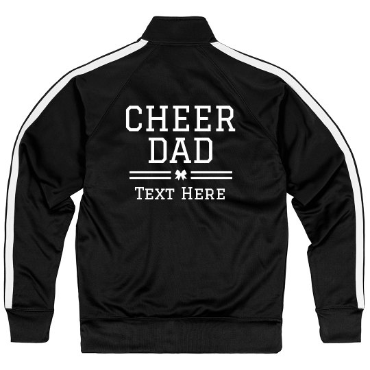 Cheer Dad Custom Text Design