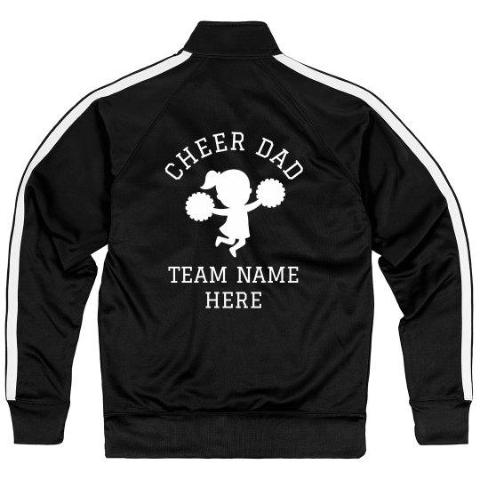Cheer Dad Team Name Jacket
