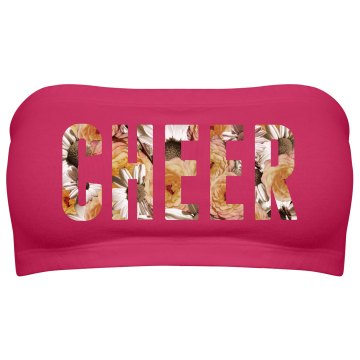 Cheer Floral Text
