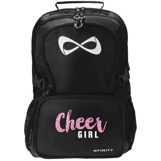 Cheer Girl Glitter Nfinity Bag